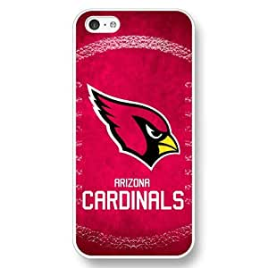 MEIMEIUniqueBox Customized NFL Series Case for iphone 6 4.7 inch, NFL Team Arizona Cardinals Logo iphone 6 4.7 inch Case, Only Fit for Apple iphone 6 4.7 inch (White Hard Shell)MEIMEI