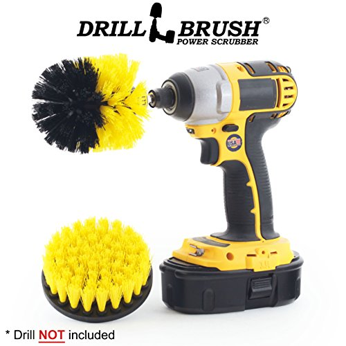 Price comparison product image New Quick Change Shaft Shower, Tub, and Tile Power Scrubber Brush by Drillbrush