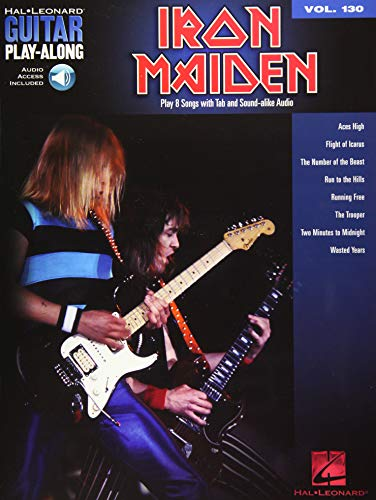 Iron Maiden: Guitar Play-Along Volume 130 (Hal Leonard Guitar Play-Along) - Iron Maiden Guitar Tabs
