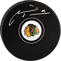 Chicago Blackhawks Marian Hossa Autographed Puck - Fanatics Authentic Certified - Autographed NHL Pucks