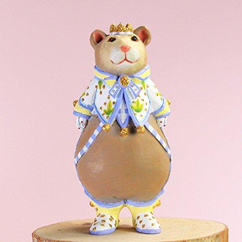 Brewster Bear - Patience Brewster Mini Victoria Bear Ornament