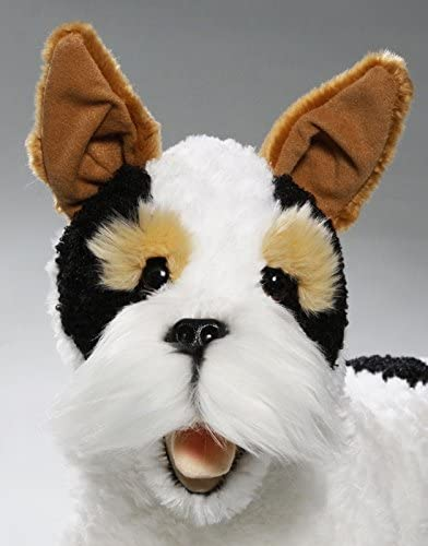 42cm Soft Plush Stuffed Cuddly Toy NEW Carl Dick Fox Terrier Dog