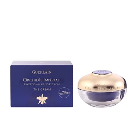 Guerlain Orchidee Imperiale Exceptional Complete Care Cream, 1.6 Oz Aramox 4Pcs/Set Acne Remover Tool Stainless Steel Rose Gold Double Head Needles Blackhead Extractor