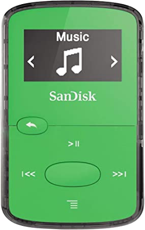 SanDisk Clip Clip Jam  - Reproductor MP3 , 8GB, Verde