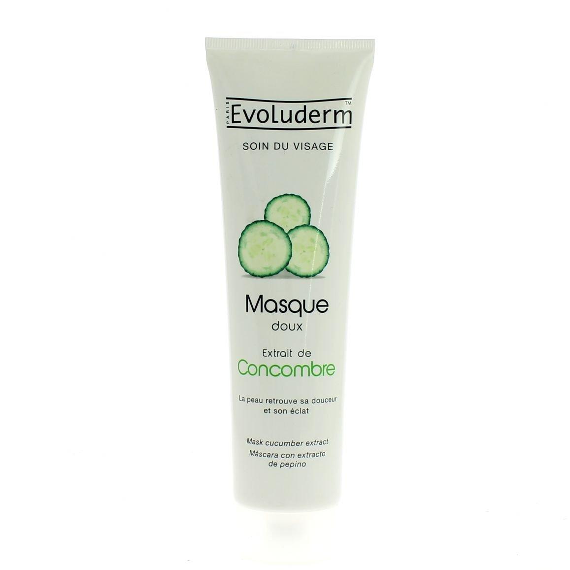 Masque au concombre evoluderm / bouteille de 150 mL