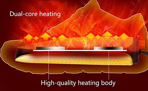 Facile SèChe 70 Thermostat Double DéSodorisant Bottes à StéRilisation XIE à ° Chauffage à Transporter CœUr SéChoir Chaussures à AqxX1w