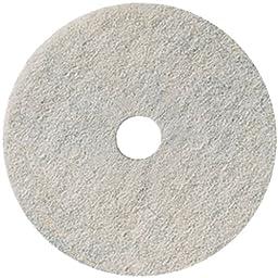 3M Natural Blend White Pad 3300, 17\