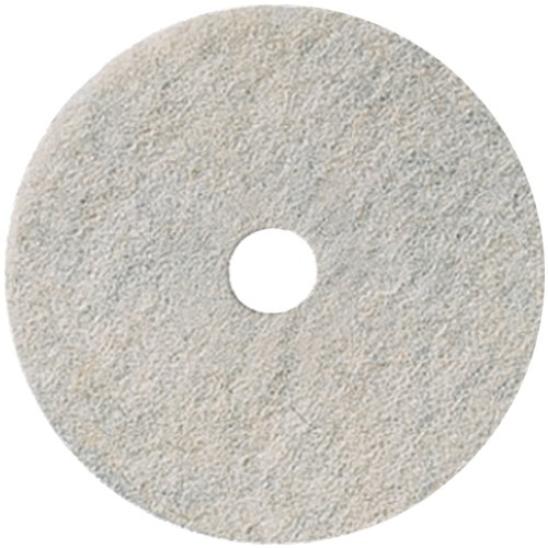 3M Natural Blend White Pad 3300, 27'' (Case of 5) by 3M