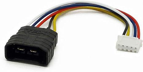 TRA2888X 14.8V 5000mAh 25C 4S TRAXXAS ID Male to TRX Female Balance Adapter