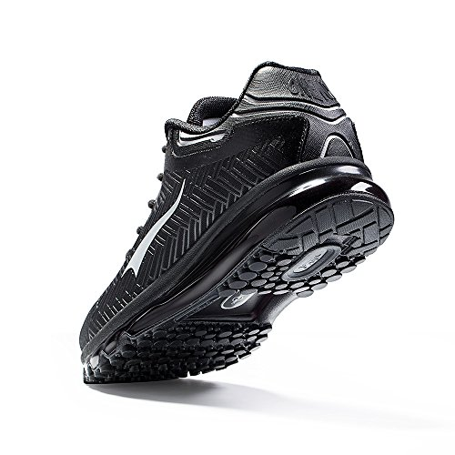 Nero Basse Ginnastica argento Onemix Sportive Uomo Corsa Running Scarpe Da qn81PZ