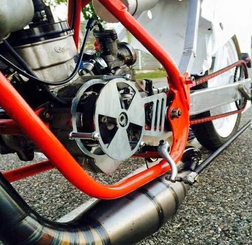 Ideato per le Corse Proteggono il Rotore Interno Esterno per Accensione PVL Stage6 MHR Italkit MVT Easyboost Copri Coperchio Volano Pignone per Derbi EURO 2 Prima 2004 Tutti i Modelli SM R DRD
