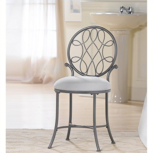 Exceptionnel Hillsdale Ou0027Malley Vanity Stool, Gray