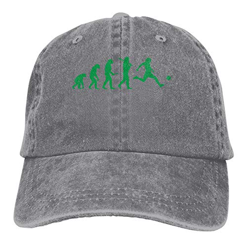 Unisex Adjustable Baseball Cap Evolution Football Classic Hat Gray -