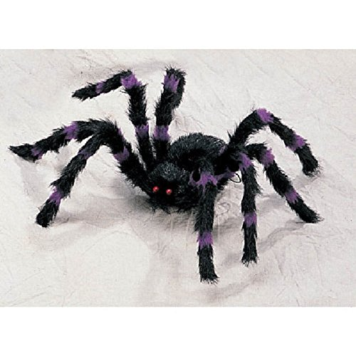 Scary Halloween Decorations Props Large Hairy Spider Bendable Legs (Large Image)