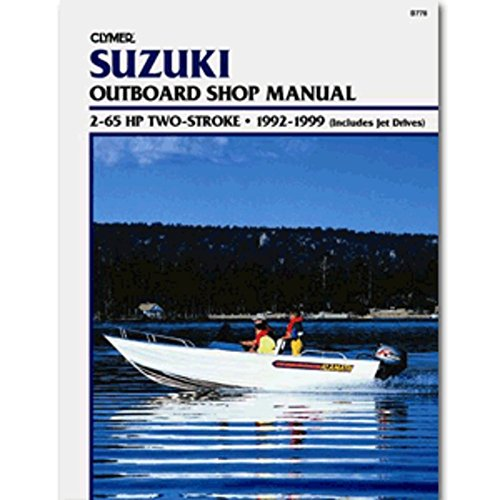 Clymer Suzuki 2-65 HP Two-Stroke (Includes Jet Drives) (1992-1999) Marine , Boating Equipment