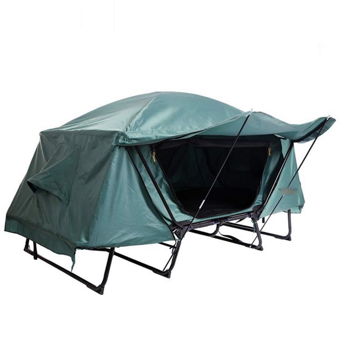 CAFUTY 多機能シングルテントベッド防水コールドアウトドアレジャー折りたたみ釣り車トップグランドテント (Color : オレンジ, サイズ : 1P) 1P オレンジ B07MNJ6VB7