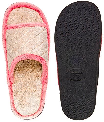 Fleece Womens Isotoner Isotoner Maddie Womens Sand Trap Slide xTrTUtq