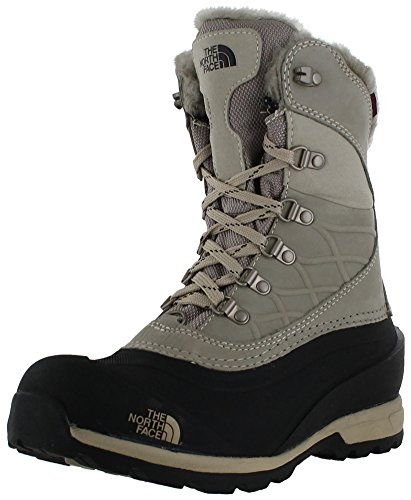 Bota Para Mujer North Face Chilkat 400 Simply Taupe Brown / Tnf Black