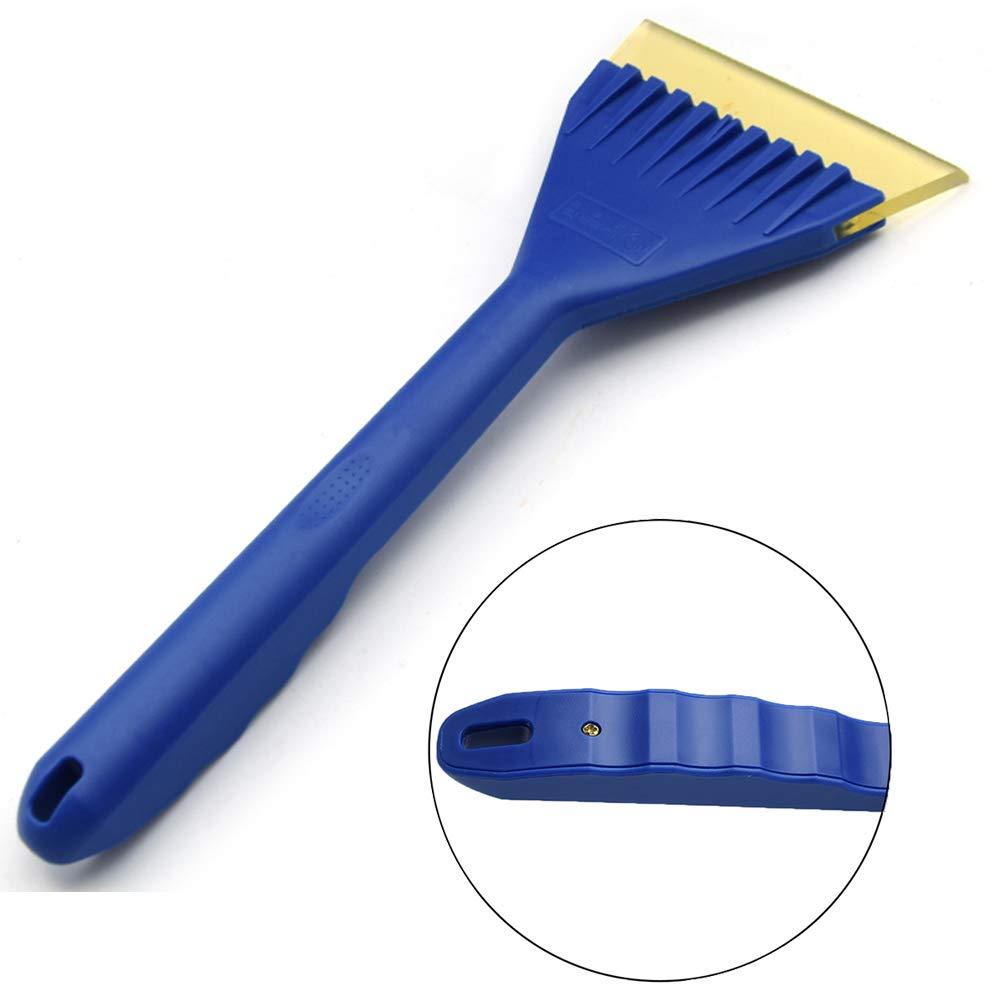 T0071 Tafeiya Ice Scraper for Car Snow Scraper Long Handle (Blue)