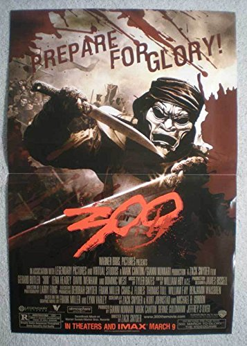 300 IMMORTAL Promo Poster, Frank Miller, 2006, Unused, more in our -