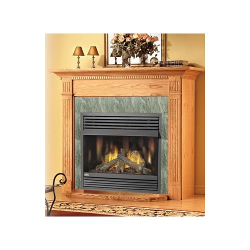 vent free gas fireplace corner - 4