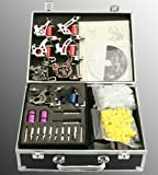 8 Gun Tattoo Kit Tattoo Machine Tattoo Gun Premium Tattoo Kit With Hard Carrying Case By JRFOTO