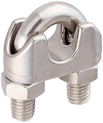 eDealMax Hardware de UNA Silla 10 mm de UNA cuerda de alambre del Clip U perno de sujeción del Sujetador: Amazon.com: Industrial & Scientific
