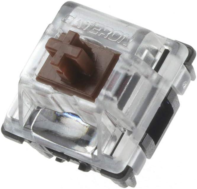 Gateron Optical Brown teclado mecánico SK61/SK64/SK71 16 uni