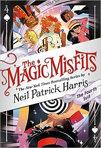 The Magic Misfits: The Fourth Suit (The Magic Misfits, 4): Harris, Neil  Patrick: 9780316391955: Amazon.com: Books