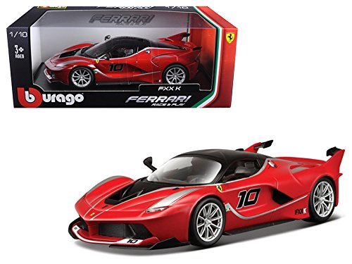 - Maisto Ferrari FXX-K #10 Red 1/18 Model Car by Bburago