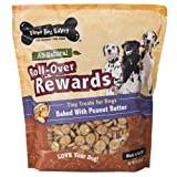 Three Dog Bakery Roll-Over Rewards Peanut Butter Dog Treats, 32-Ounce, My Pet Supplies