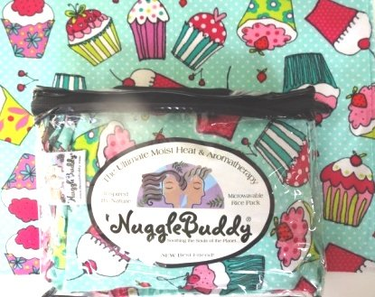 'NUGGLEBUDDY Microwaveable Moist Heat & Aromatherapy Orga...