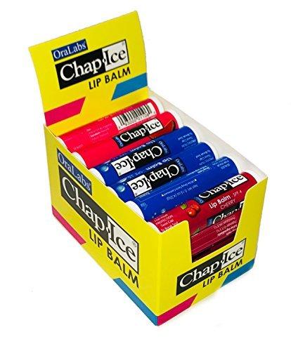Chap Ice Assorted Lip Balm + Display Box - 24 ()
