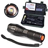 Complete Set Flashlight Set Focus Zoom Safety Roadside Emergency Kit Outdoor Activity Device Checklist Widely used for Explorer, Home, Office, Traveling, Camping, Hiking, Hunting, Riding etc.