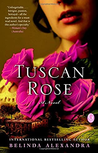 book cover of Tuscan Rose