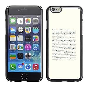 PC/Aluminum Funda Carcasa protectora para Apple Iphone 6 Plus 5.5 Boat Minimalist Pen Art Waves Sea / JUSTGO PHONE PROTECTOR