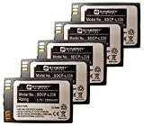 Synergy Digital Cordless Phone Batteries - Replacement for Avaya 3641, 3645 Cordless Phone Batteries (Set of 5)