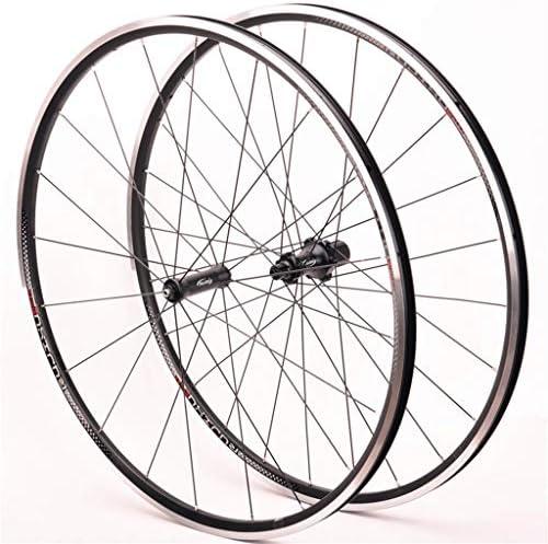 GXFWJD 自転車ホイールセット700C ダブルレイヤーリム Vブレーキ QR 9mm 8/9/10/11速度 カセットフライホイール 自転車の車輪 1530g