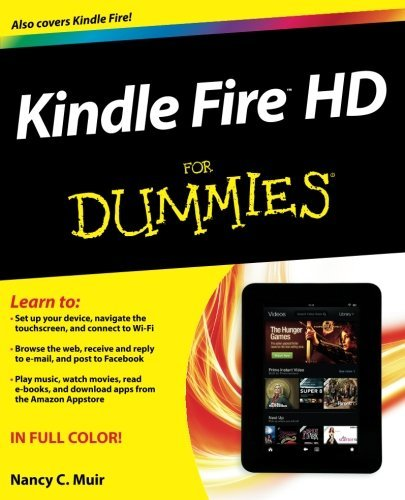 Kindle Fire HD For Dummies (Handheld Sorry)