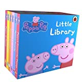 Best Peppa Pig Action Figures - Peppa Pig Little Library 6 Books for Little Review