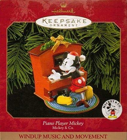 8e11350ae72ba Amazon.com  Piano Player Mickey Hallmark Keepsake  Home   Kitchen