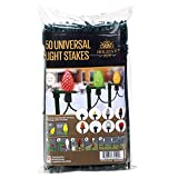Holiday Joy - 50 Easy Push Deluxe Light Lawn Stakes