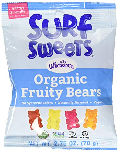 (Surf Sweets Organic Fruity Bears, 2.75 oz)