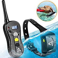 Shock Collar For Dogs Ipx7 Waterproof Dog Shock Collar With Remote Ipx5 3000ft Range Dog Training Collar Fast Training Effect For Dog