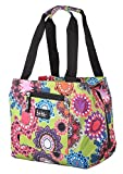 Nicole Miller of New York Insulated Lunch Cooler 11 Lunch Tote (Charming Lime)