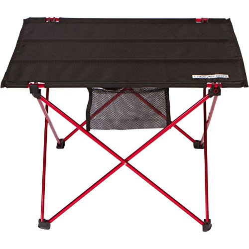 trekology foldable camping picnic tables portable compact lightweight folding roll up table in. Black Bedroom Furniture Sets. Home Design Ideas