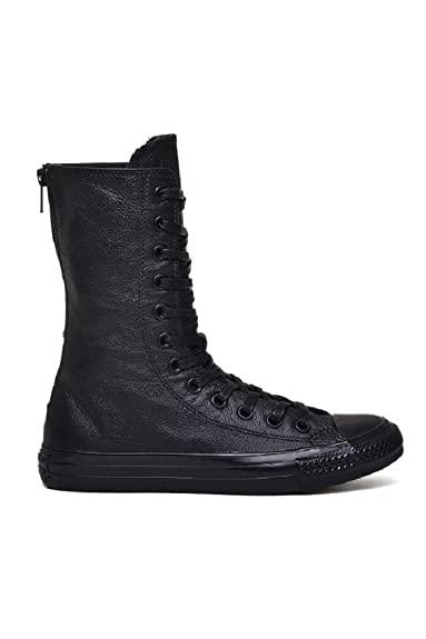 74de698b8b00 Converse Women s Chuck Taylor All Star X-Hi Back Zip Black Black 550640C (