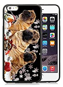 2014 Latest Diy For Ipod 2/3/4 Case Cover Christmas Dog Black Diy For Ipod 2/3/4 Case Cover PC Case 5