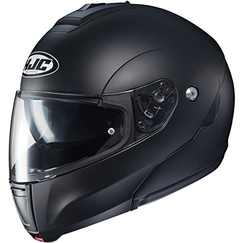 - HJC Helmets CL-Max 3 Men's Snowmobile Helmet - Semi Flat Black/Large