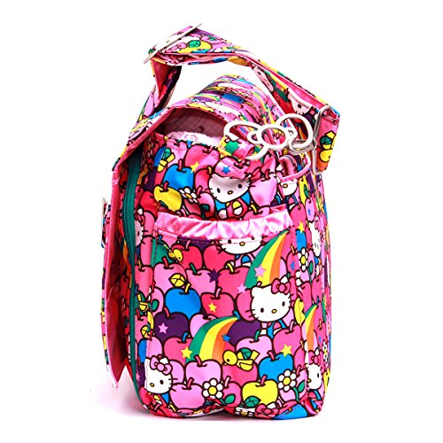 Ju-Ju-Be HK LS Better - Bolso bandolera para pañales, diseño Hello Kitty Lucky Stars, multicolor Multicolor (Hello Kitty)